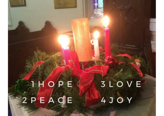 Advent Wreath at CCL