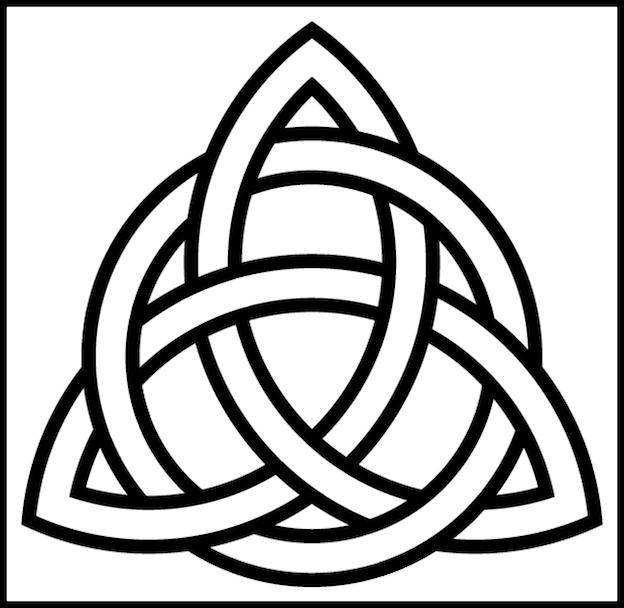 TRINITY SPIRIT CIRCLE-INTERLACED-8X8