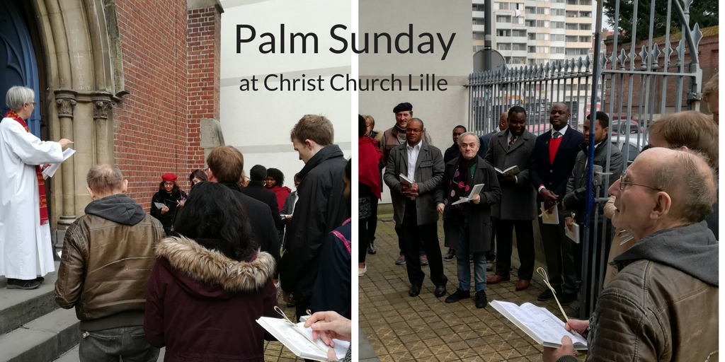 Palm Sunday at Christ Church Lille