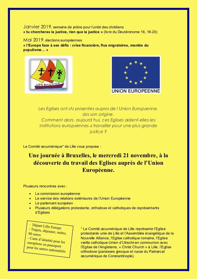proposition Bruxelles