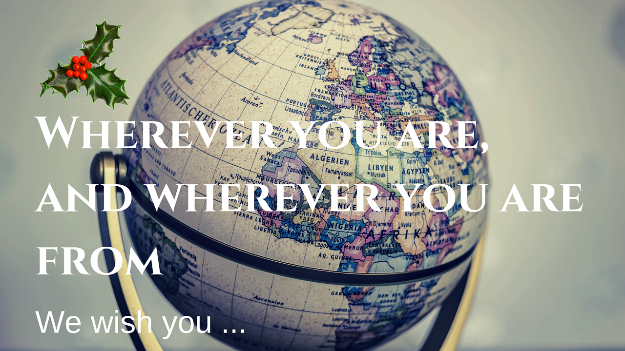 Wherever you are, and wherever you are from_opt