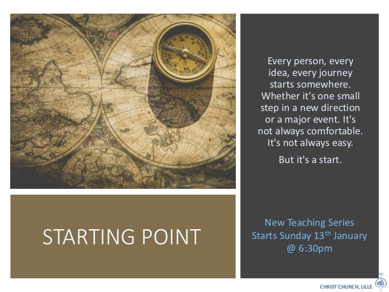 STARTING POINT - Newsletter