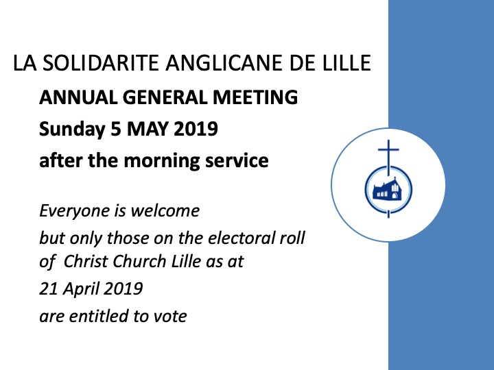 Solidarité AGM notice 2019